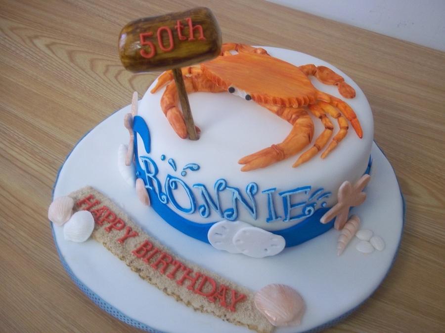 Beach Crab Cake Cakecentral Com