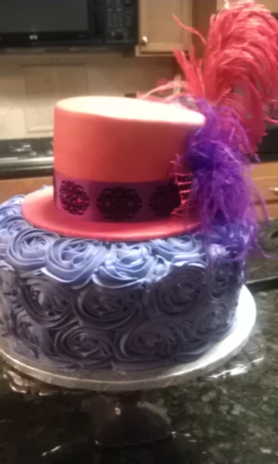 Red Hat Society Birthday on Cake Central
