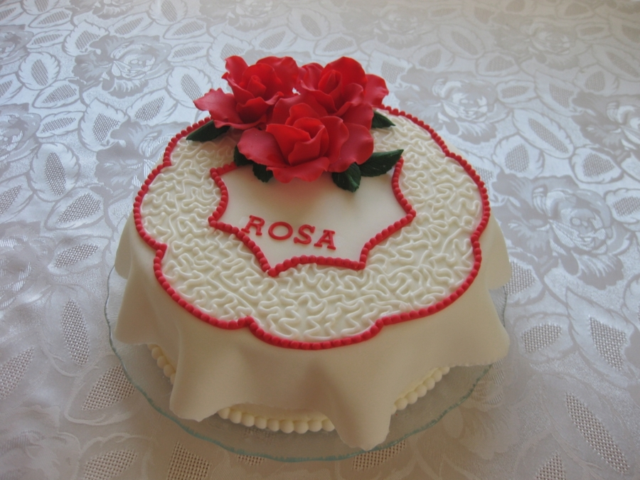 Roses For Rosa on Cake Central