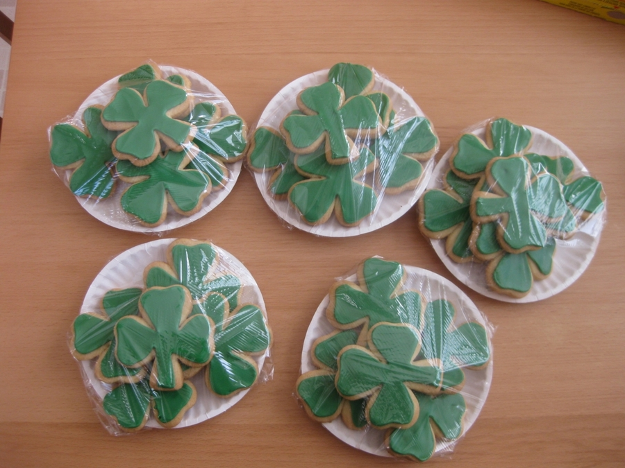 Happy St. Patrick's Day on Cake Central