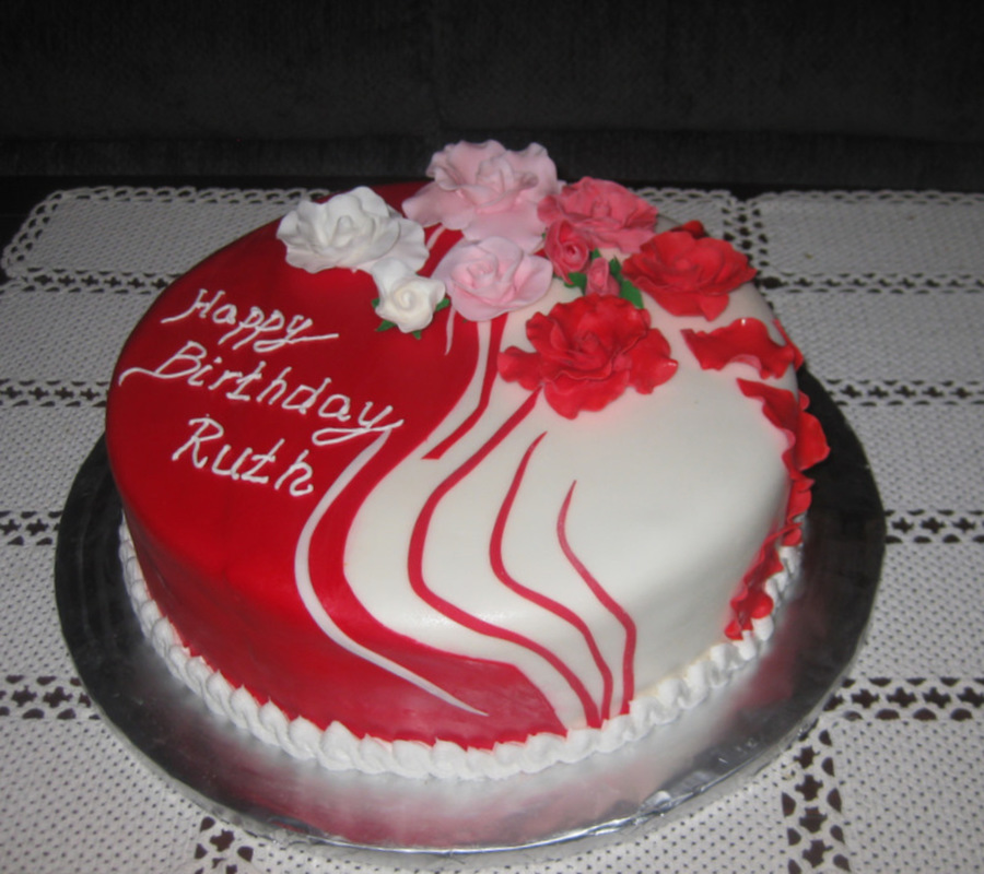 Happy Birthday Ruth Cakecentral Com