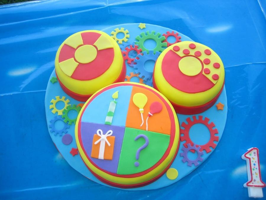 Toodles Birthday Cake
