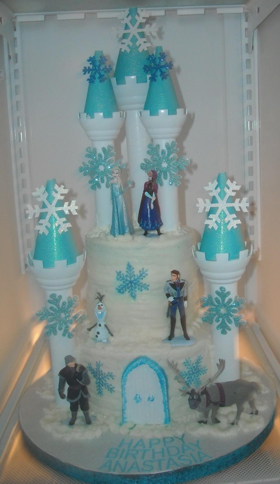Disney Frozen Castle Birthday Cakes