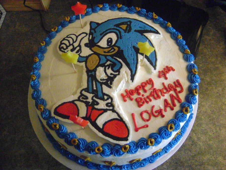 Sonic The Hedgehog Birthday Cakecentral