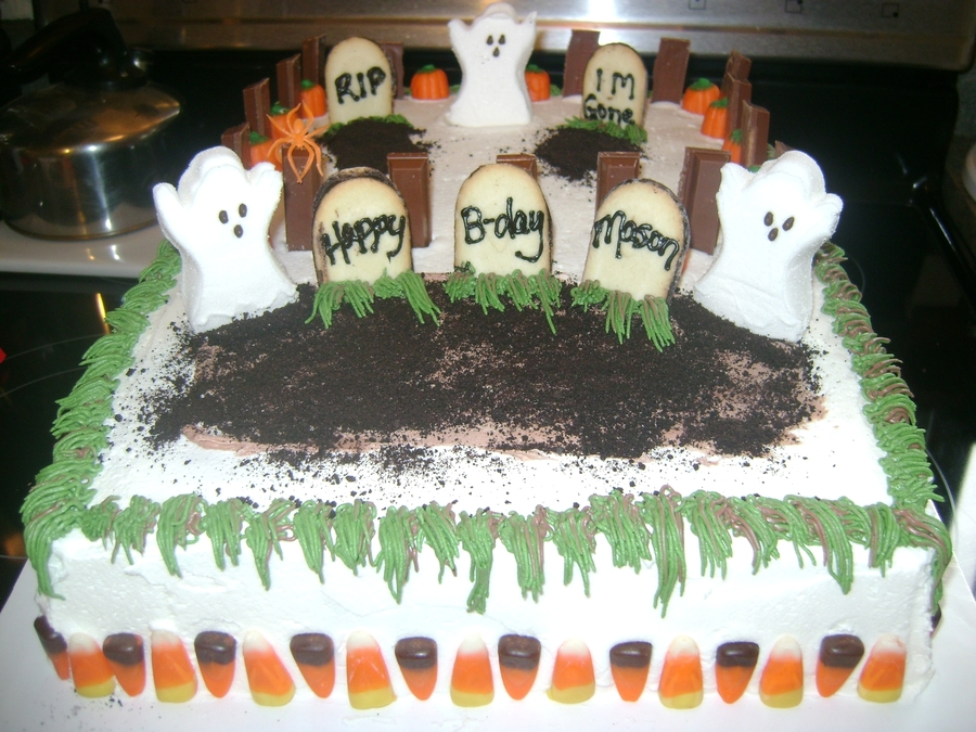 Halloween Brithday Cake on Cake Central