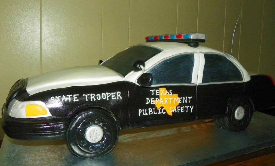 Texas Highway Patrol on Cake Central