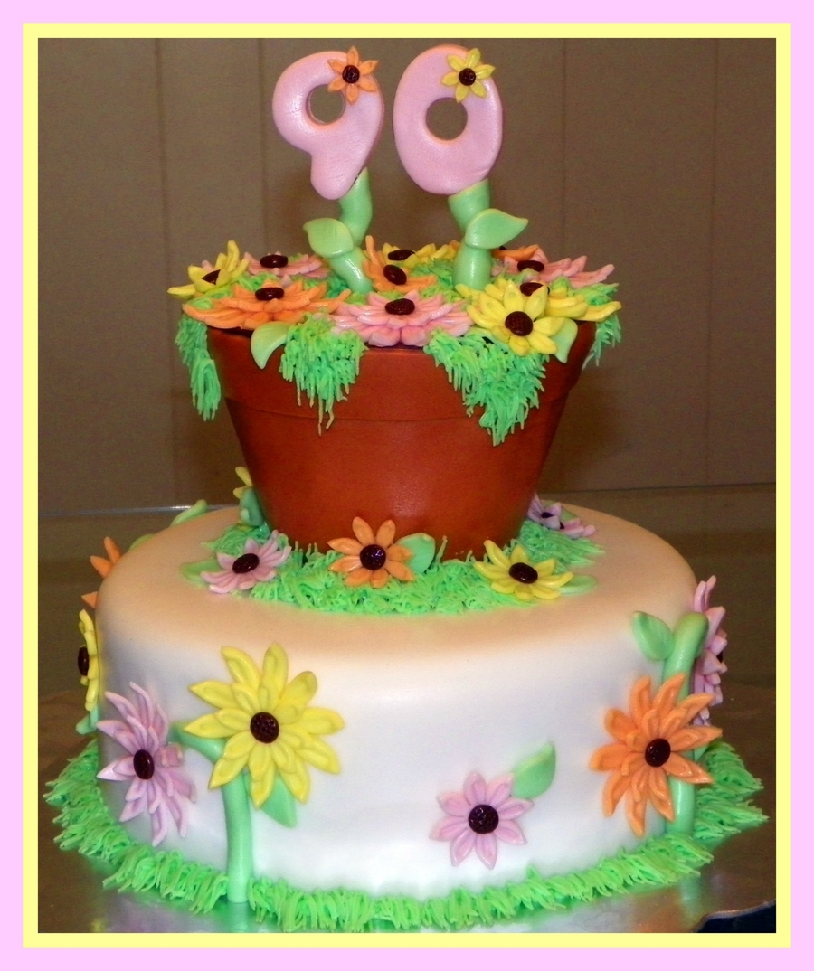 Flowers For Granny on Cake Central