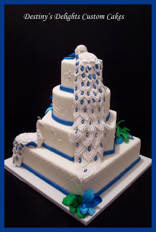 Peacock Wedding Cake.Peacock Wedding Cake Main Cakecentral Com