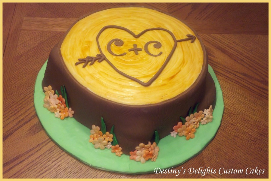 Tree Stump Cake on Cake Central