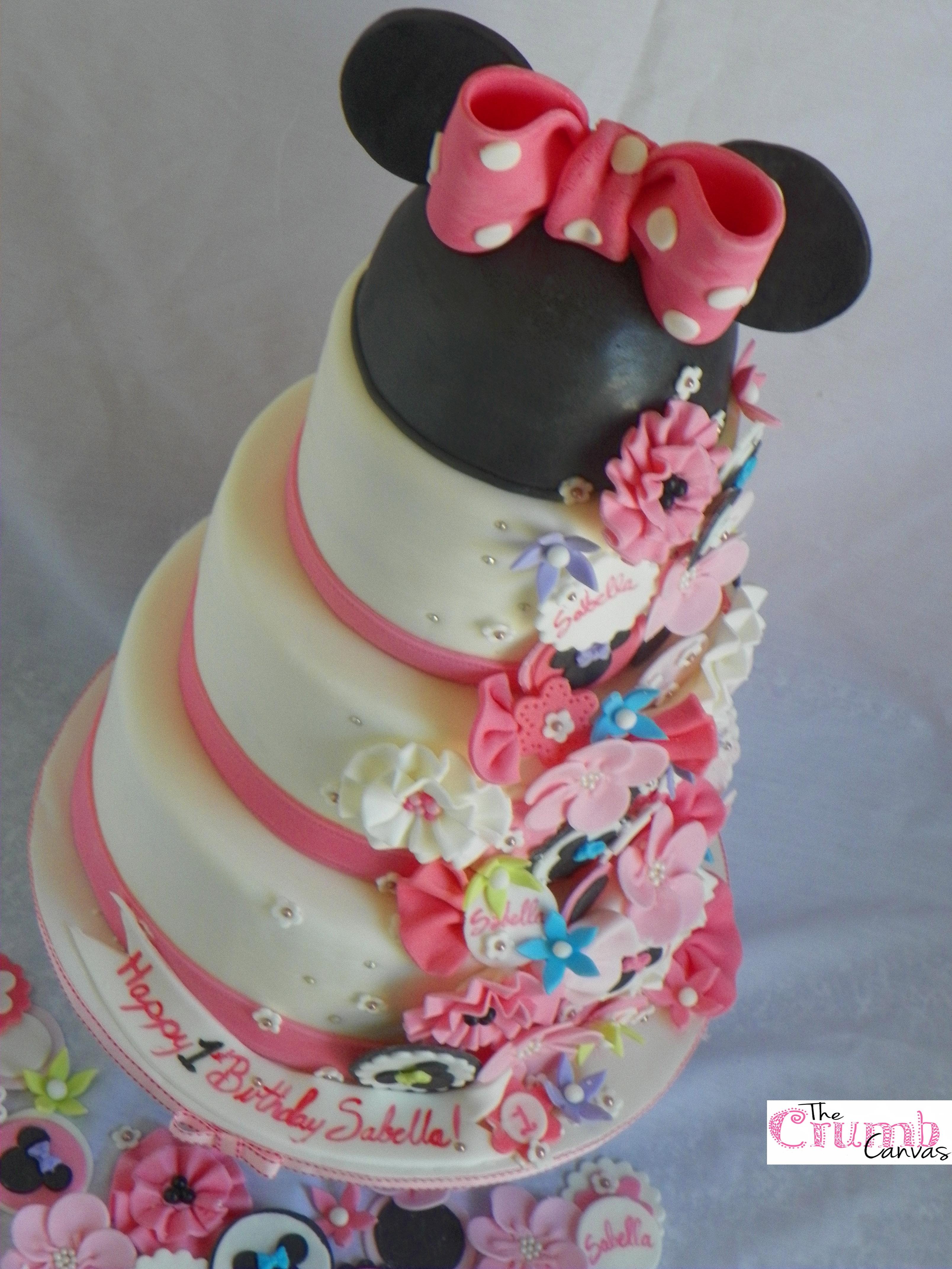 Minnie Mouse Bowtique Cake Cakecentral Com