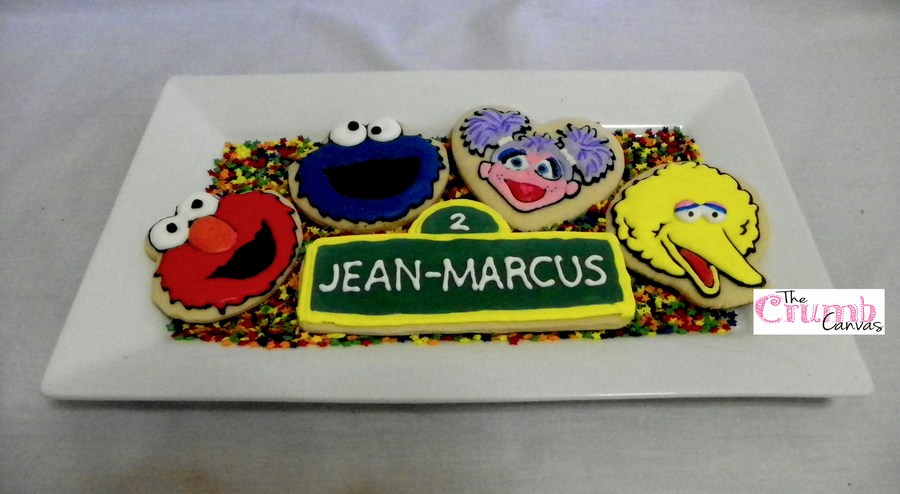 Sesame Street Cookies on Cake Central