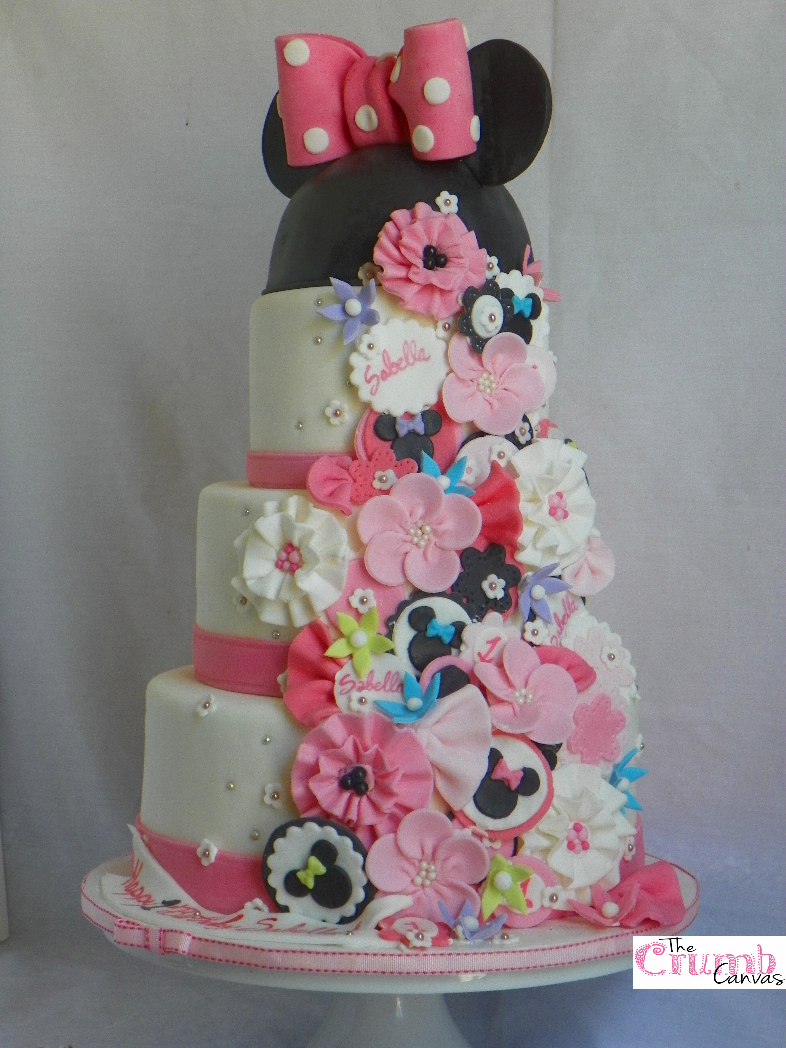 Image Result For Minnie Mouse Bowtique Birthday Cake