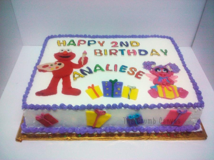 Elmo And Abby Cakecentral Com