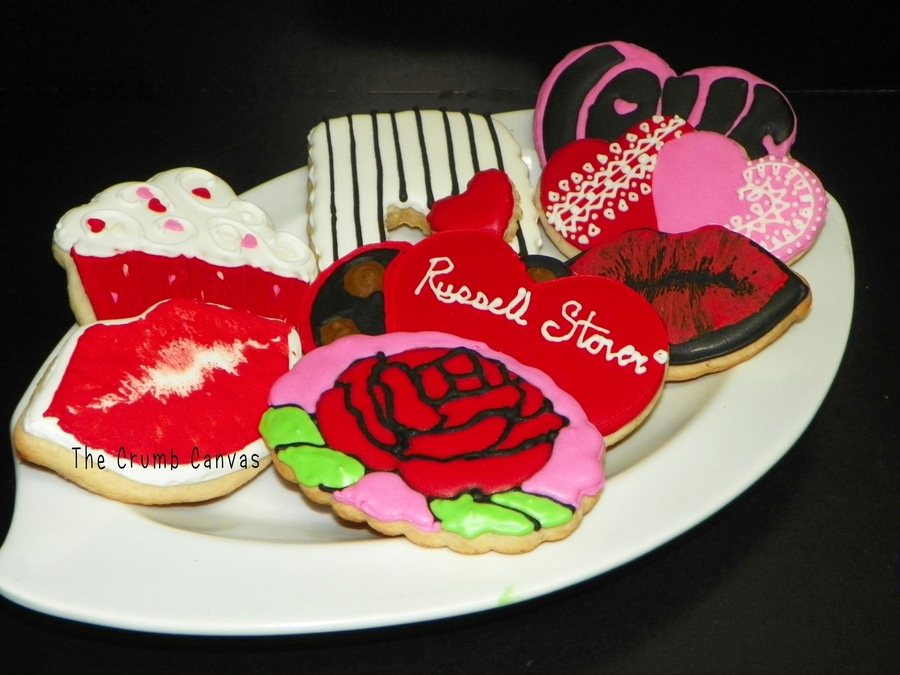 Valentines Day Cookies on Cake Central