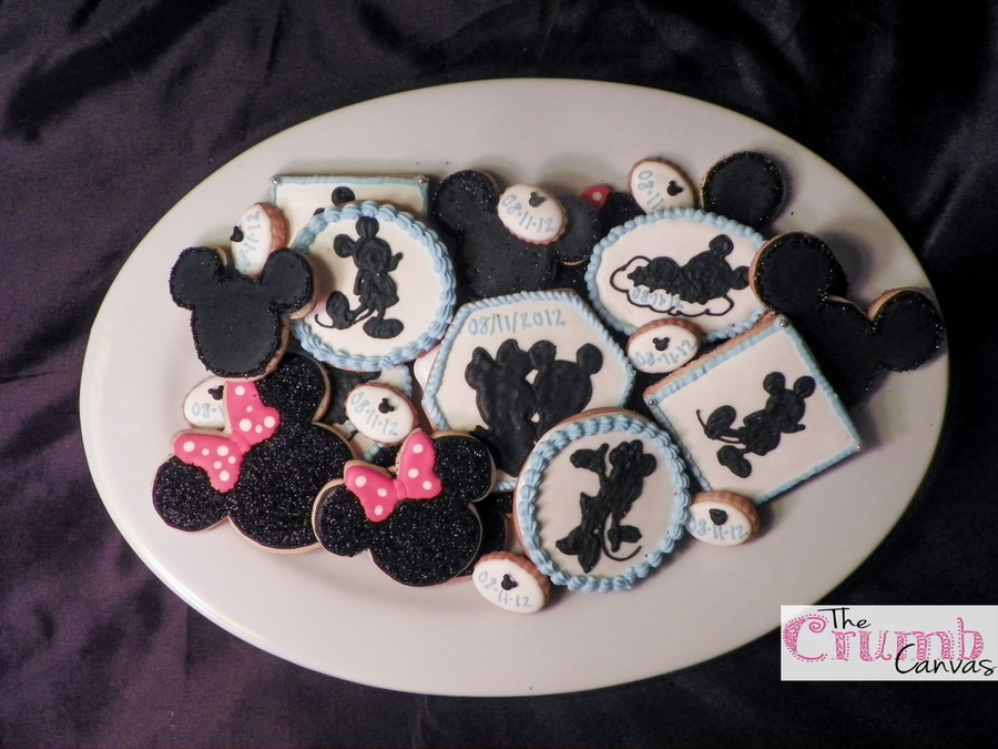 Mickey And Minnie Baby Shower Cookies on Cake Central