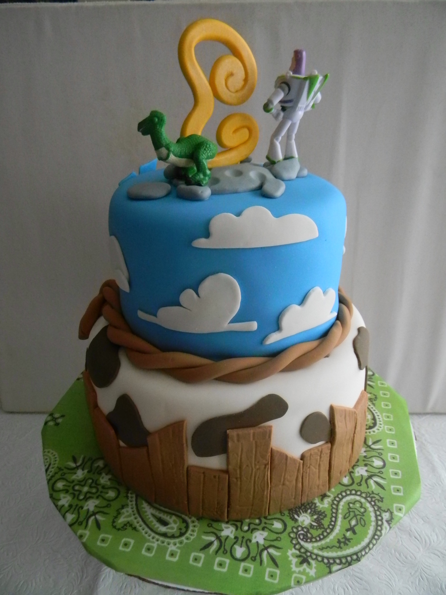 Toy Story Birthday Cake Cakecentral Com
