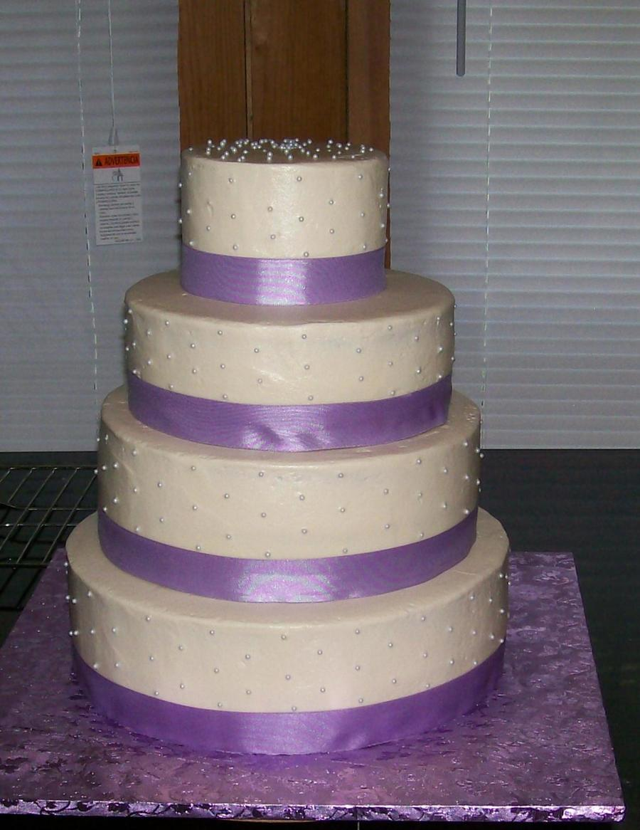 Purple Tier on Cake Central