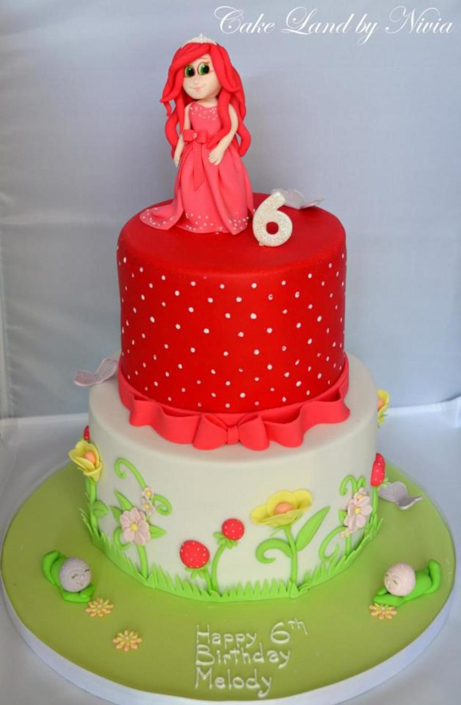 Strawberry Shortcake Adventures Cake  on Cake Central