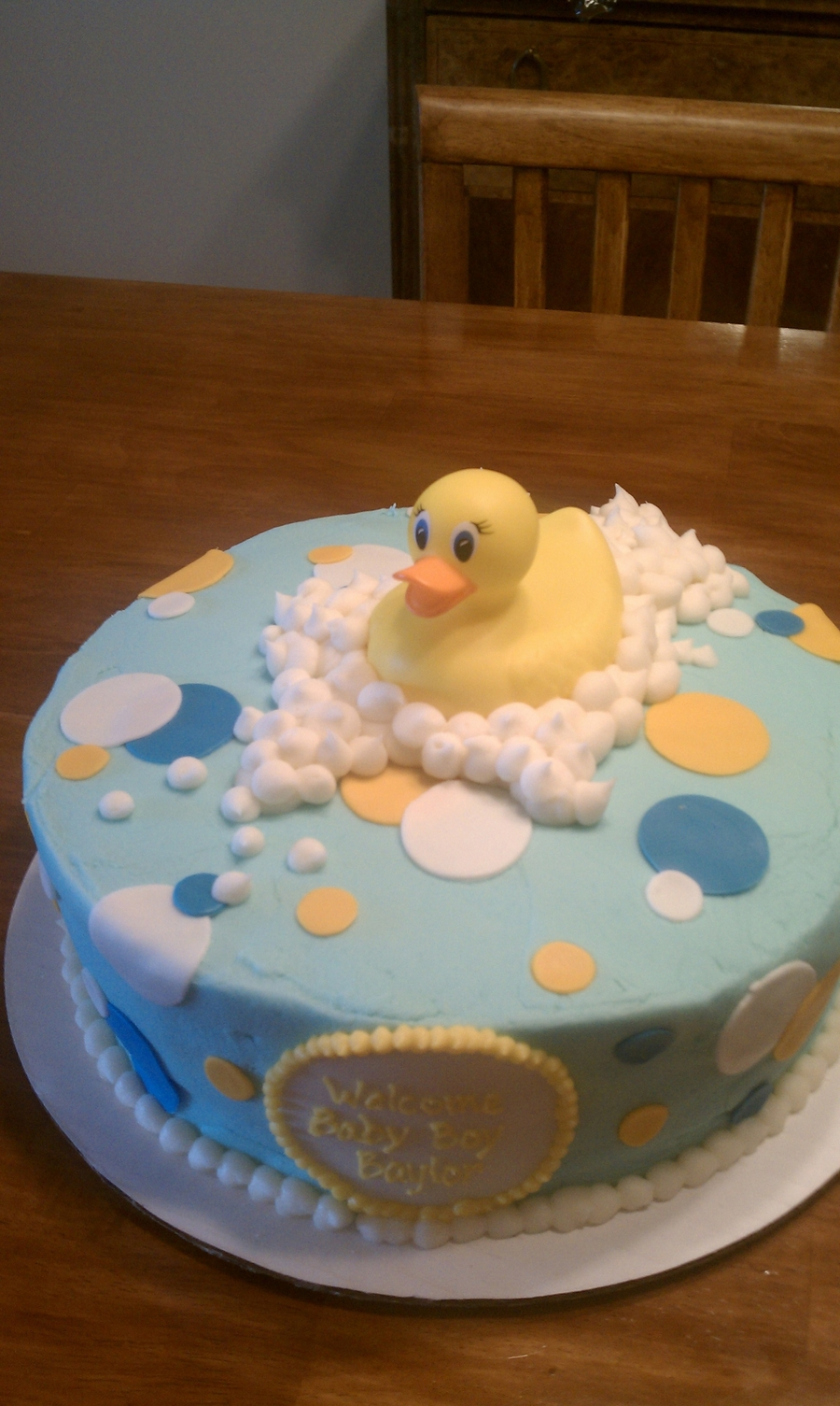 Rubber Duckie You're My Pal on Cake Central