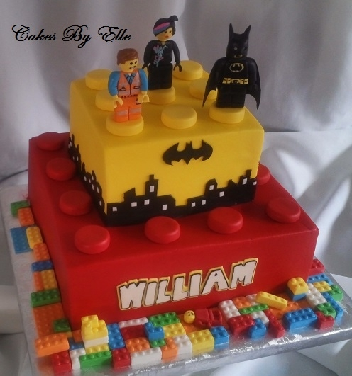 Outstanding Lego Movie Theme Cakecentral Com Birthday Cards Printable Trancafe Filternl
