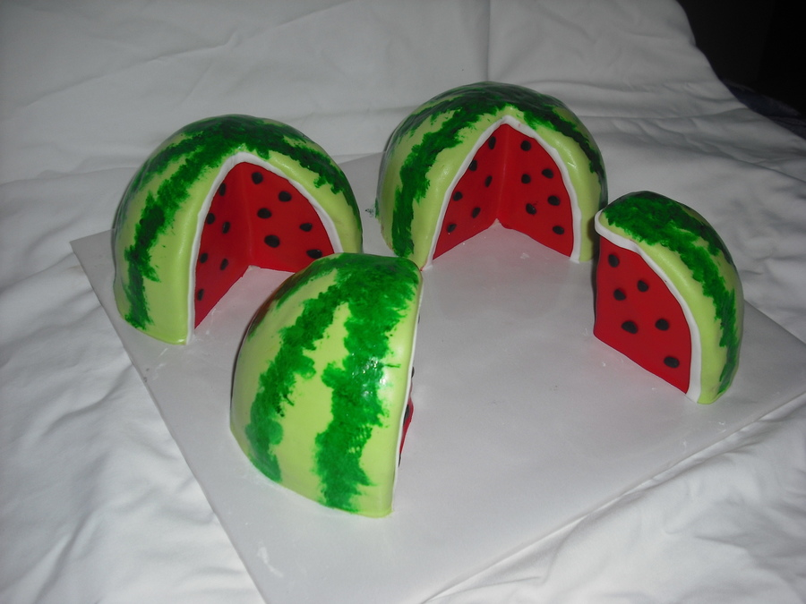 Watermelon! on Cake Central
