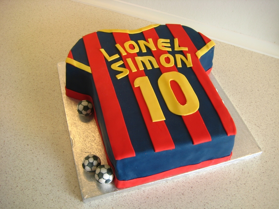 Fc Barcelona Cake on Cake Central