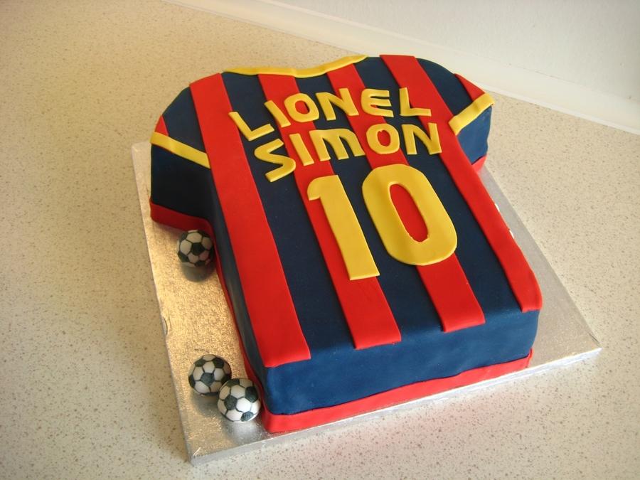 Fc Barcelona Cake Cakecentral Com