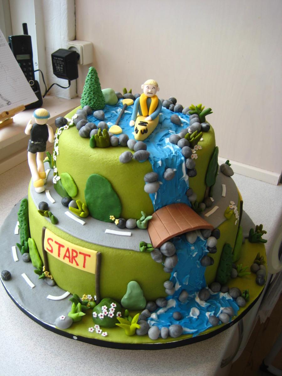 Outdoors Birthday Cake Cakecentral Com
