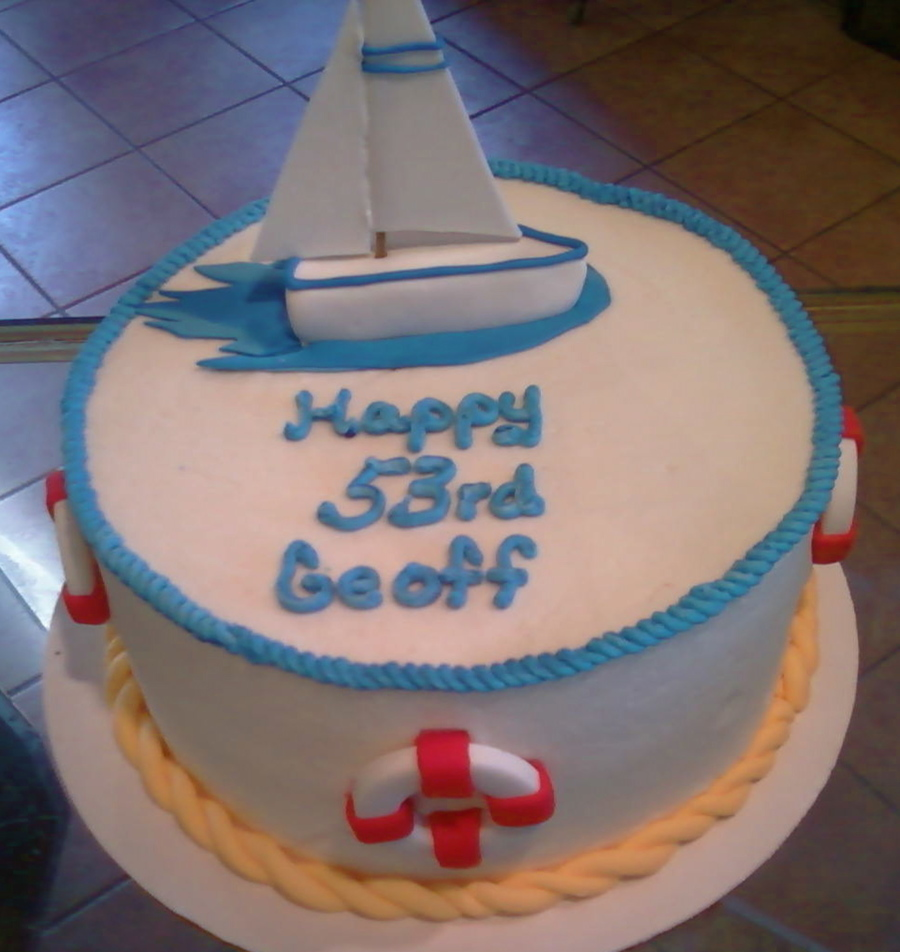 Sailboat Birthday on Cake Central
