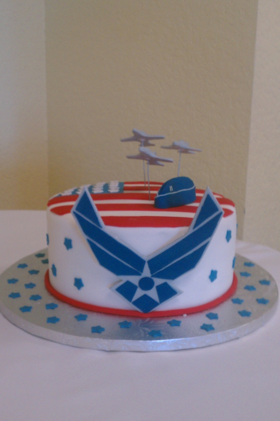 Air force grooms cake for Air force cakes decoration