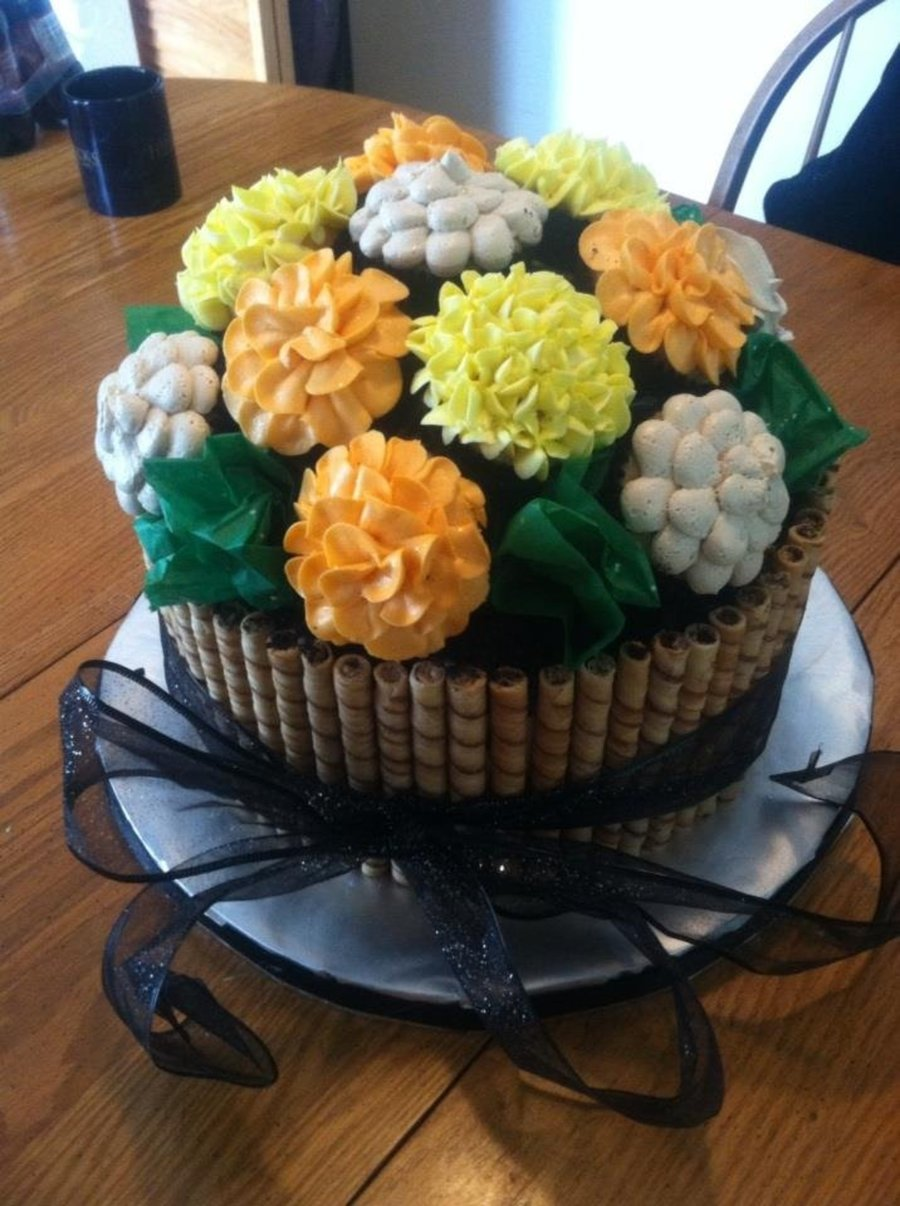 Another Flower Bouquet on Cake Central