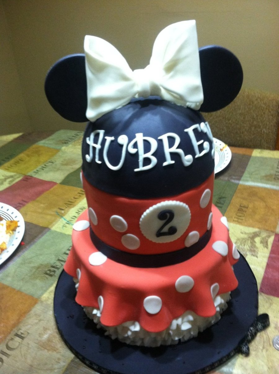 Minnie Mouse Themed Cake on Cake Central