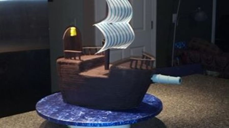 Jake And The Neverland Pirates Pirate Ship Cake For A