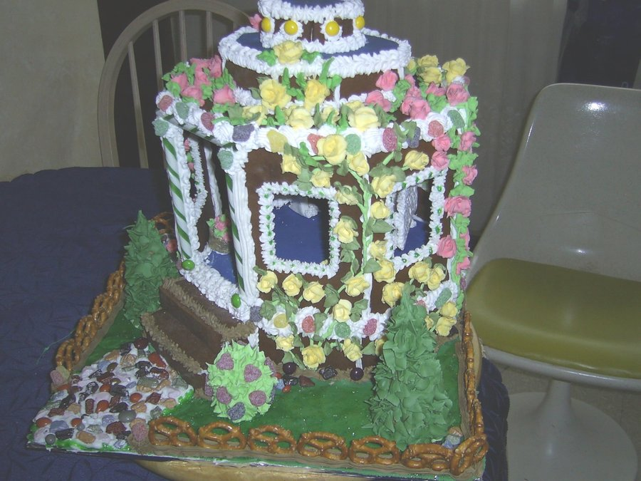 Gazebo In Spring on Cake Central