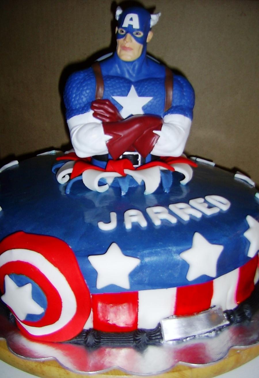 Captain America Cakecentral Com