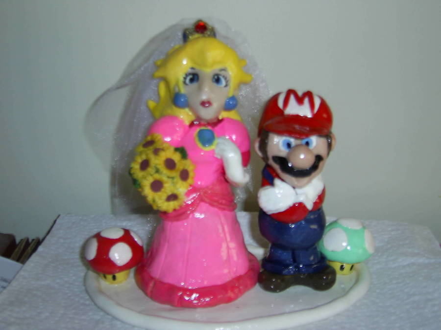 Mario Wedding Topper on Cake Central