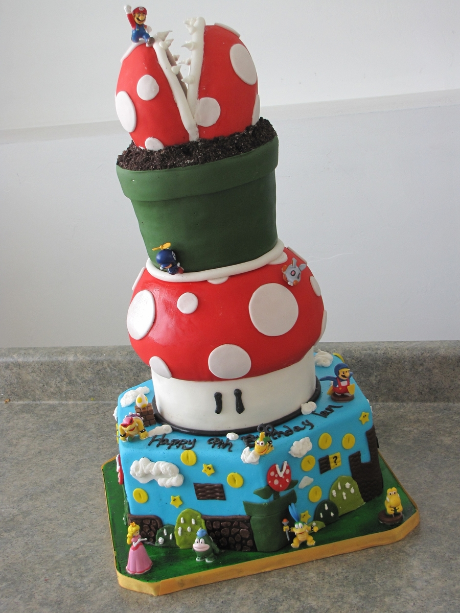 Mario Wii Cake on Cake Central