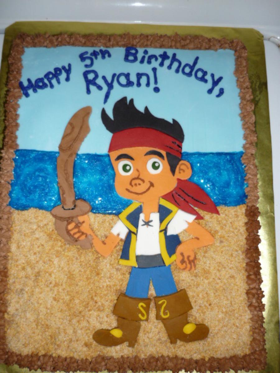 jake and the neverland pirates cake - photo #44