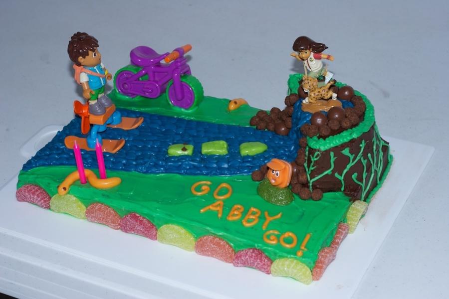 Go Diego Go Birthday Cake Ideas