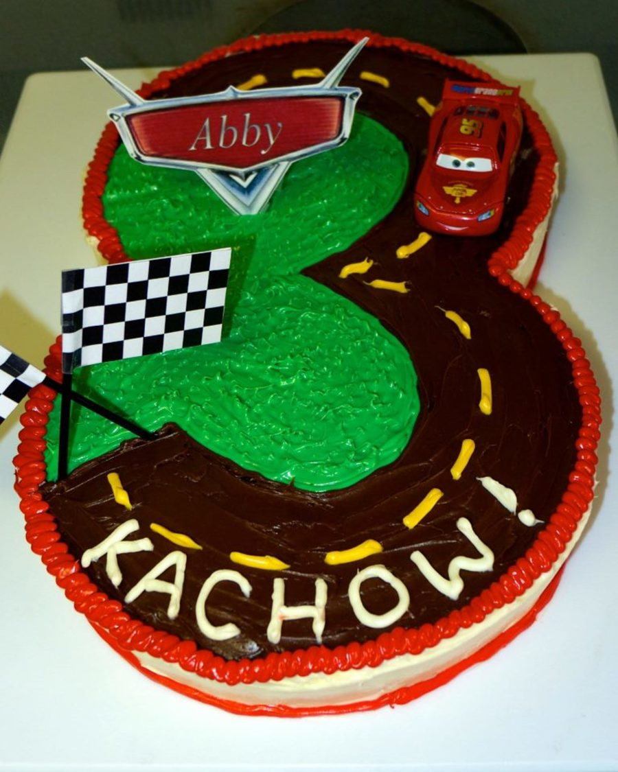 Marvelous Lightning Mcqueen Cars 3Rd Birthday Cake Cakecentral Com Personalised Birthday Cards Paralily Jamesorg