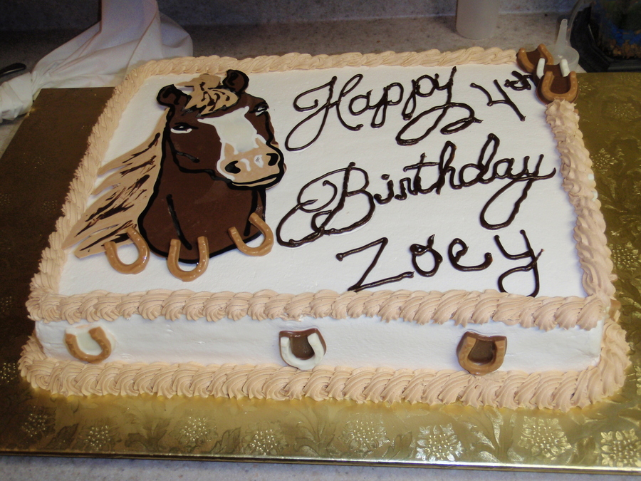 Birthday For Zoey  on Cake Central