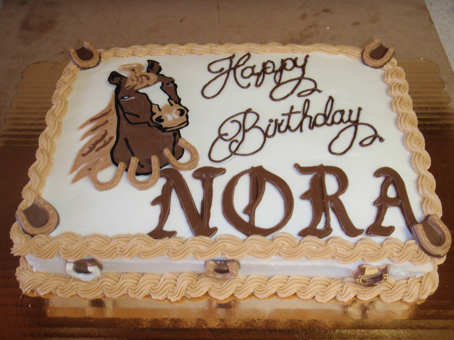 Horse Theme on Cake Central