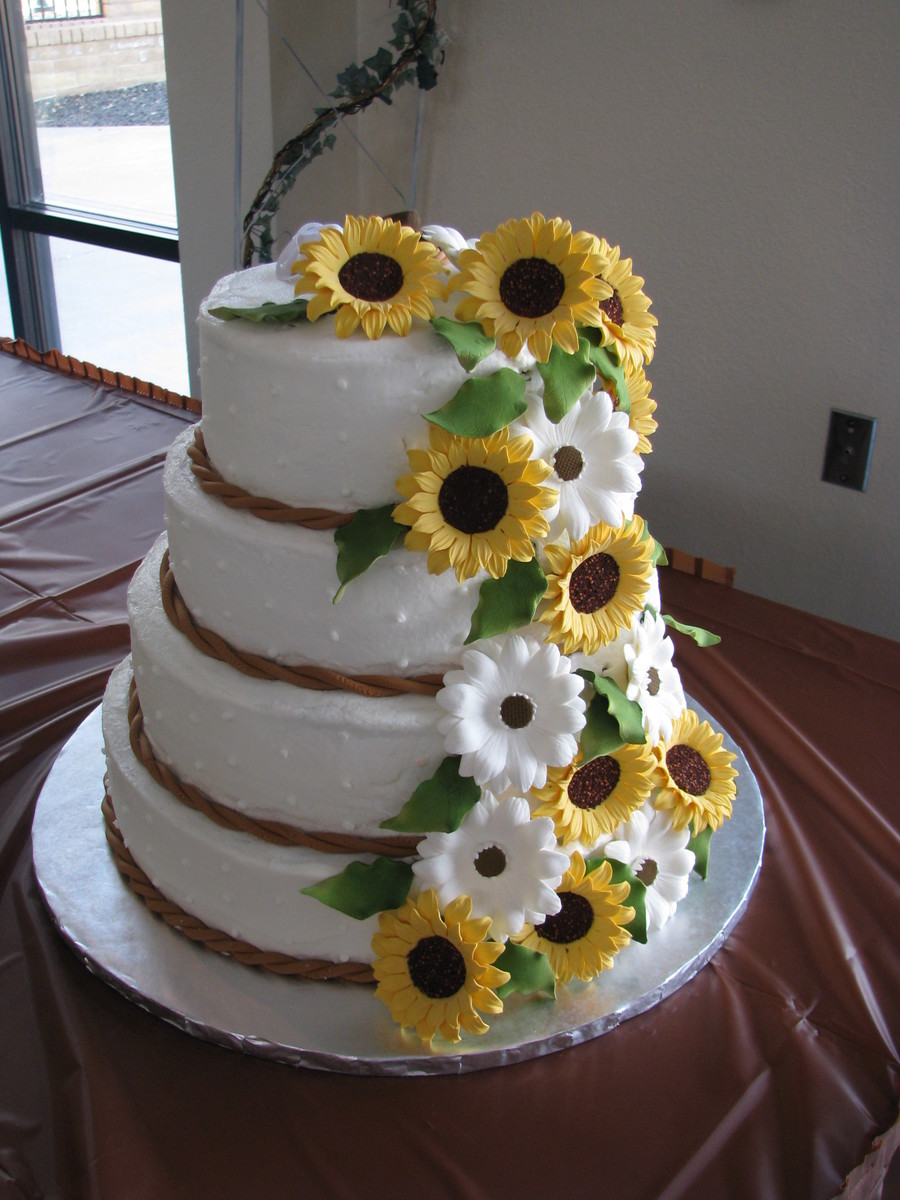 Almond Buttercream Wedding Cake