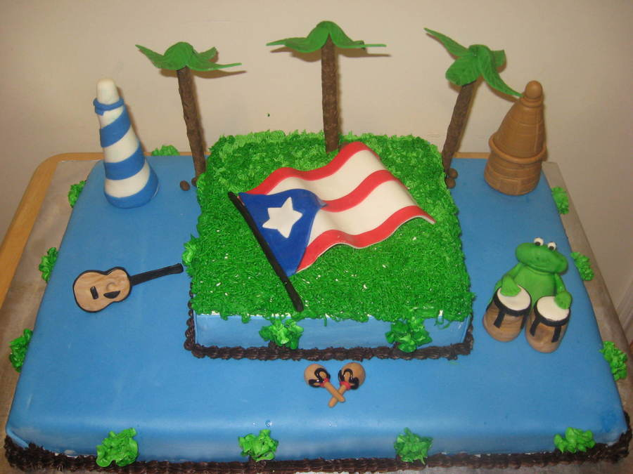 Puerto Rico on Cake Central