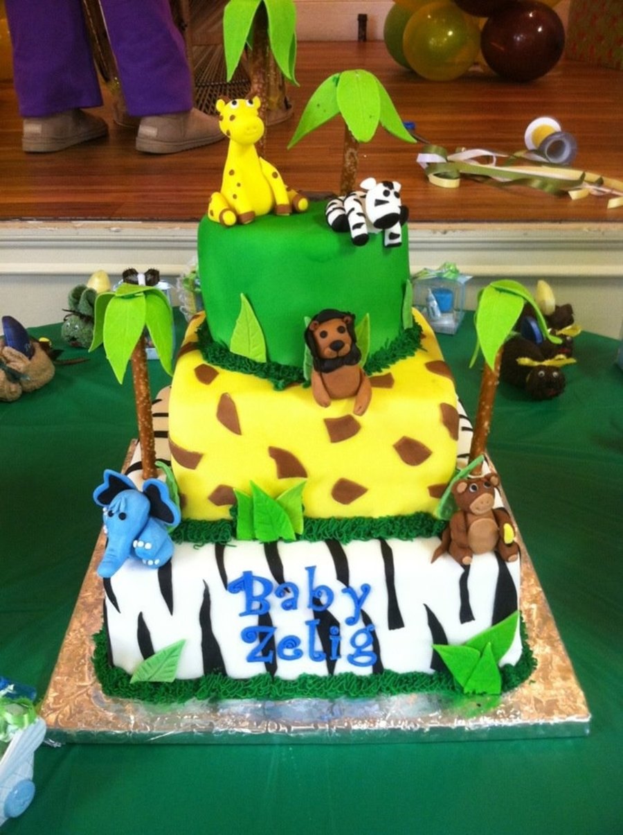 Jungle on Cake Central