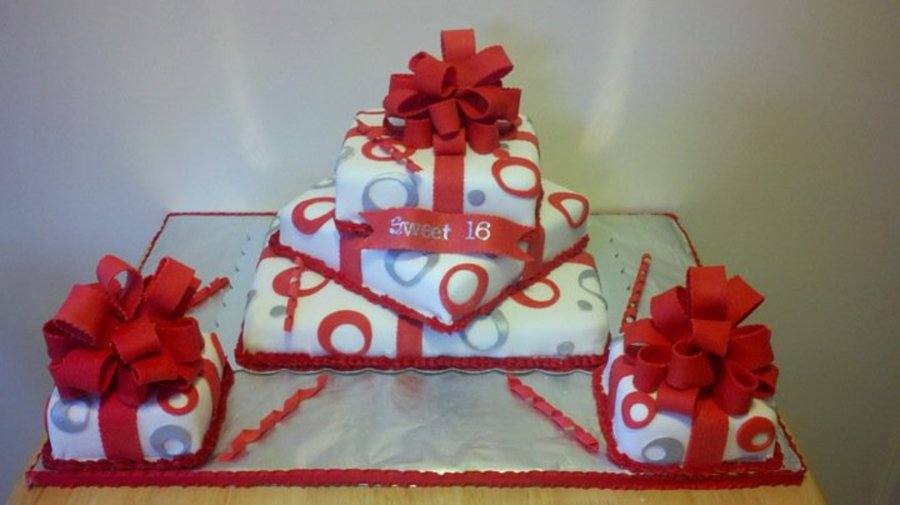 Gift Boxes on Cake Central