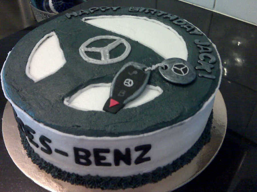 Mercedes for Mercedes benz cake design
