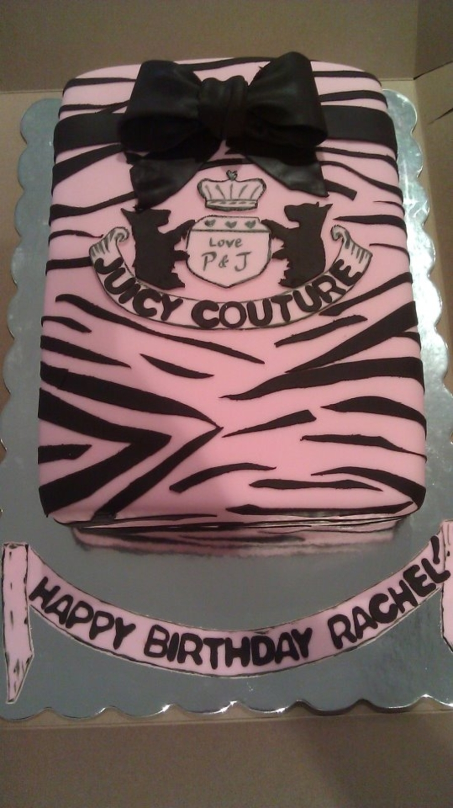 Juicy Couture on Cake Central