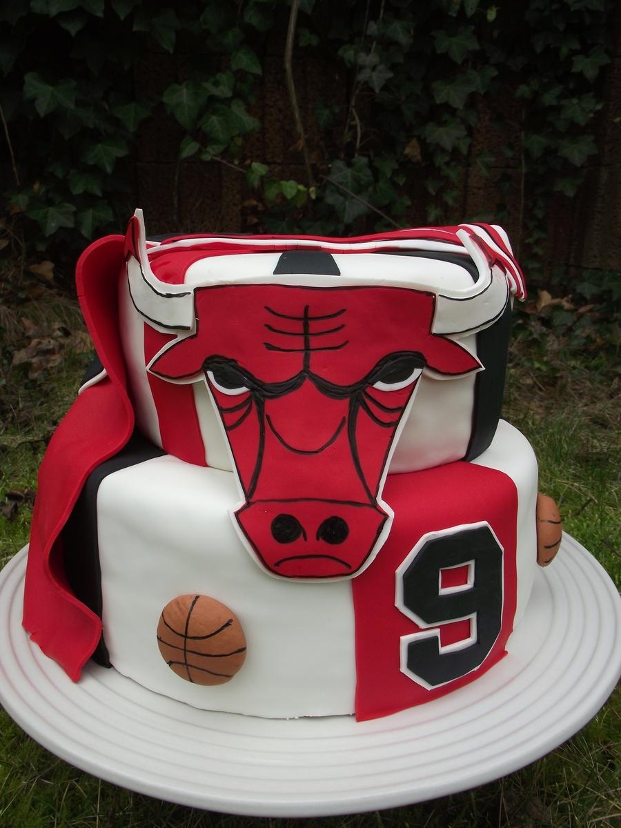Chicago Bulls Cake Ideas