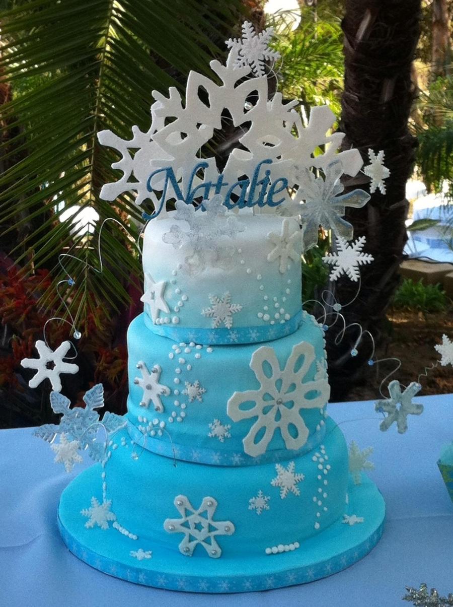 Winter Wonderland Cakecentral Com